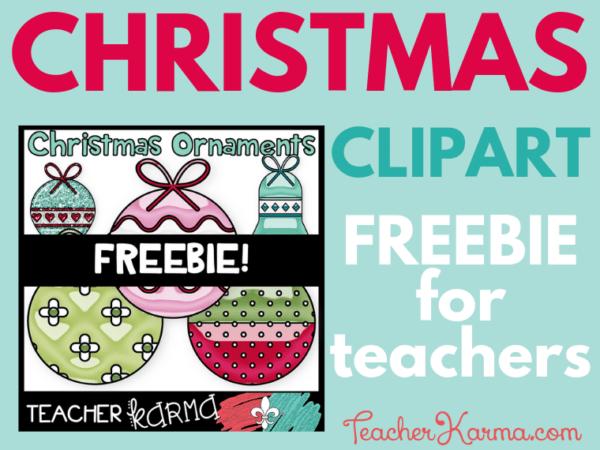 Free Christmas clipart for school #clipart #graphics #christmas #teacherkarma