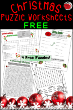 Free Christmas Worksheet Activities