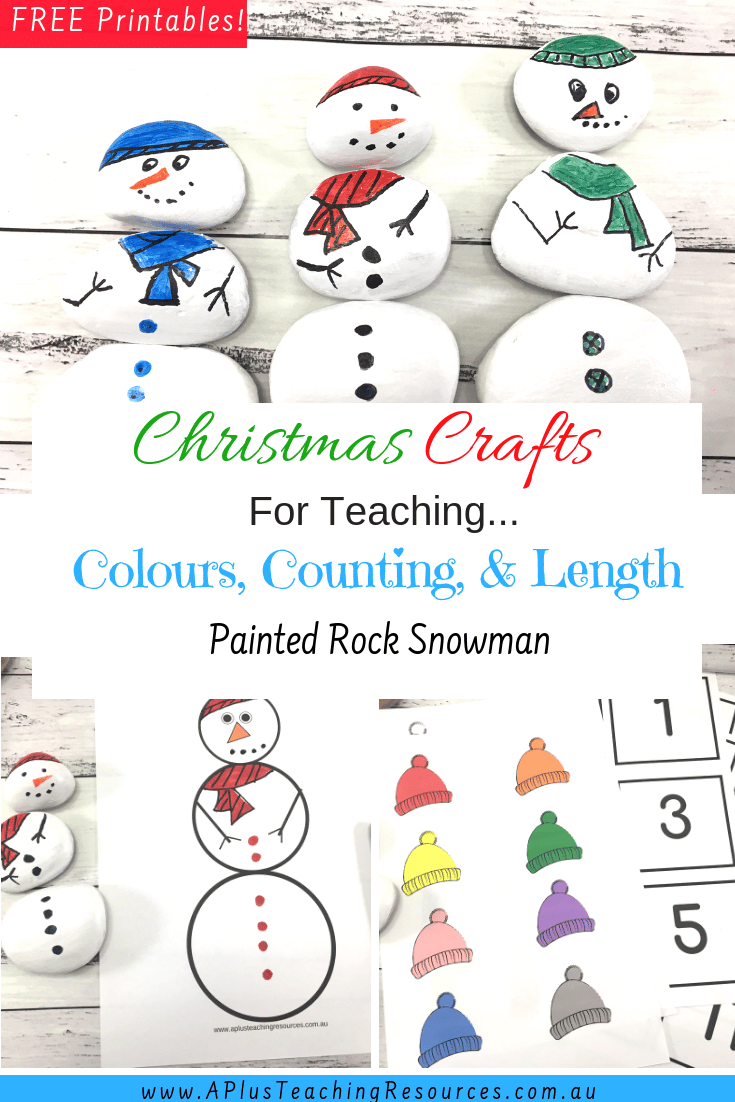 Color matching Snowman Freebie