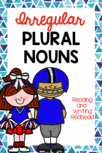 Help your students get practice with irregular plural nouns!