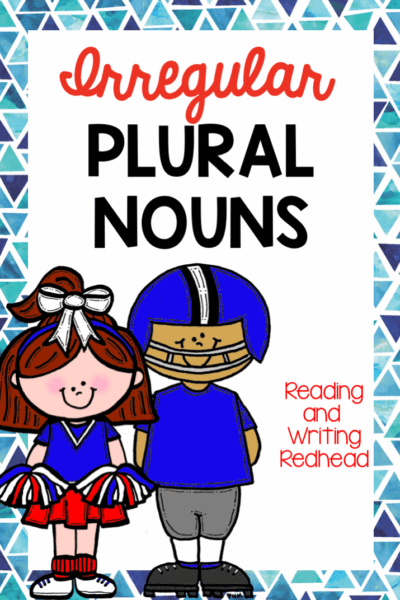 Help for those Tricky Irregular Plural Nouns