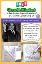 Growth Mindset Activities – Dr. Martin Luther King, Jr.