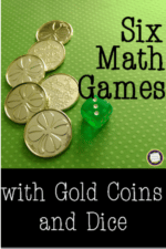 St. Patrick's Day Math Games with Gold Coins