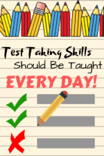 Teach Test Taking STRATEGIES Every DAY, for ALL Tests, Not Just Right Before High Stakes Testing