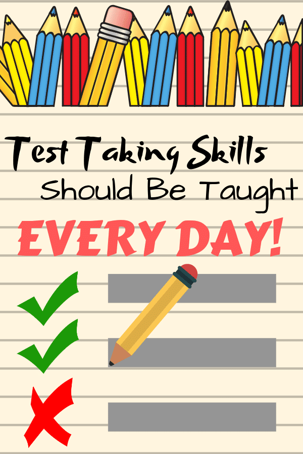 Teaching skills for conquering standardized tests with elementary students. #beatthetest #testtakingstrategies
