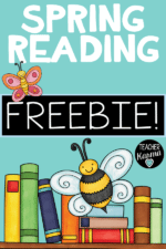 Spring Reading Activities and Printables