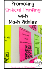 Promoting Critical Thinking with Math Riddles