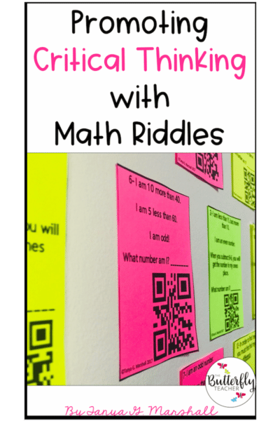 math riddles with qr codes