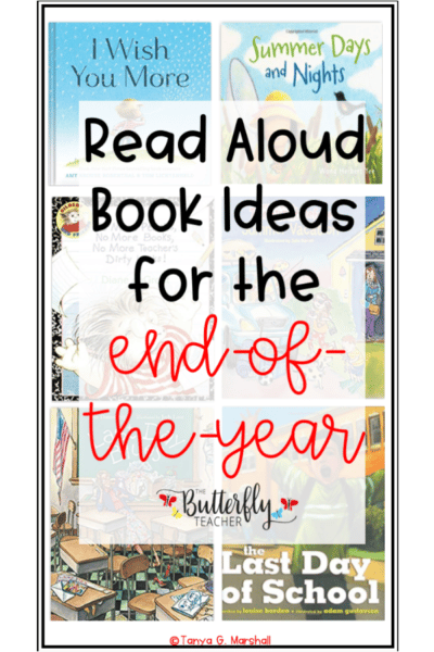 end of year read alouds