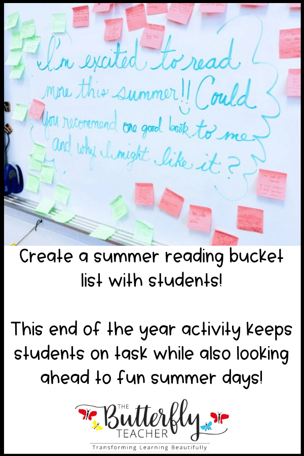 summer bucket list idea
