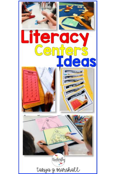 Literacy centers ideas