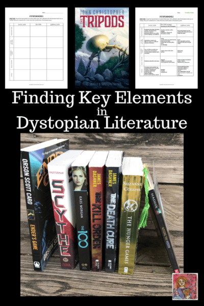 dystopian book genre features
