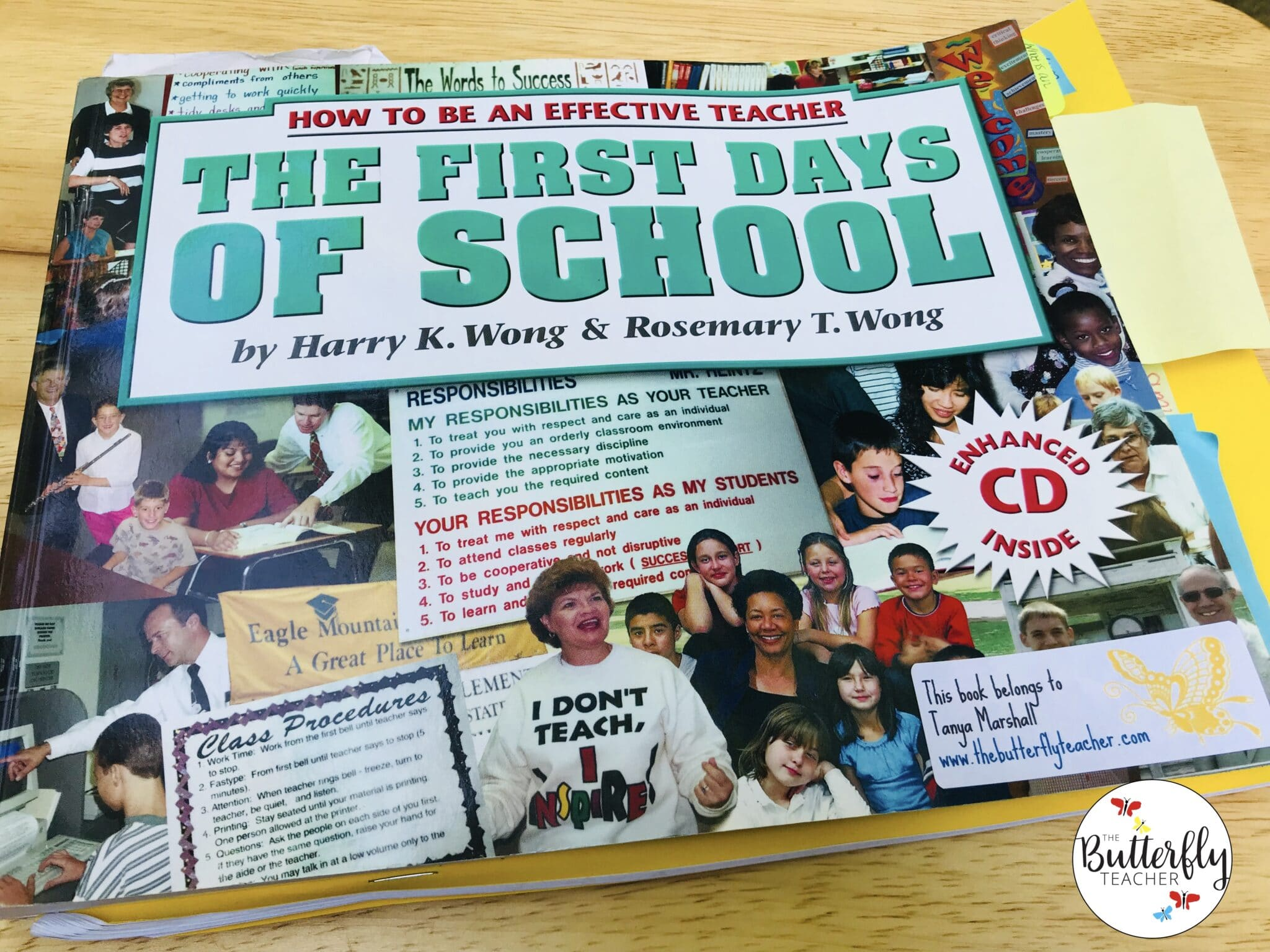 Harry Wong Book for classroom procedures