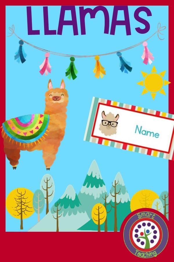 https://www.teacherspayteachers.com/Product/Editable-Llama-Theme-Decorate-Your-Classroom-Kit-Name-Cards-Binder-Roster-4338625