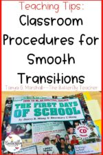 Classroom Procedures for Smooth Transitions
