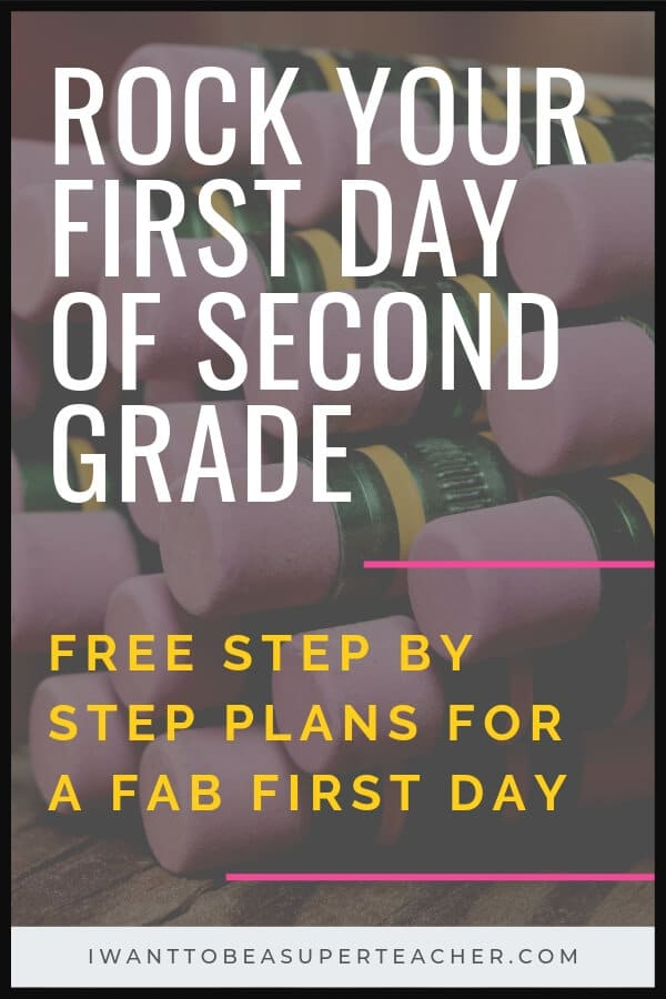 Rock your first day of 2nd grade