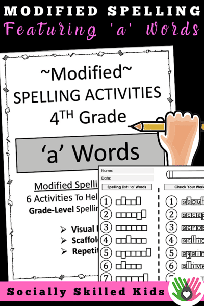 modified-spelling-activities