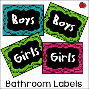 Free classroom labels Terri's Teaching Treasures