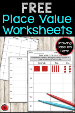 Free Place Value Worksheets