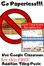 New Resource!! Now Your Can Assign This FREE Tiling Puzzle on Google Classroom