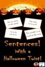 Reading Halloween Sentences