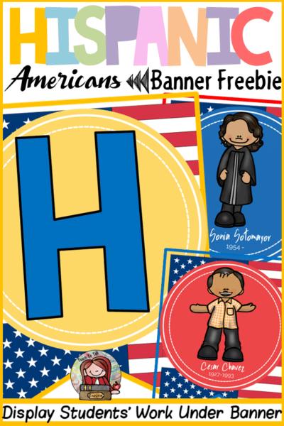 Hispanic Americans Latinos Heritage Month Banner