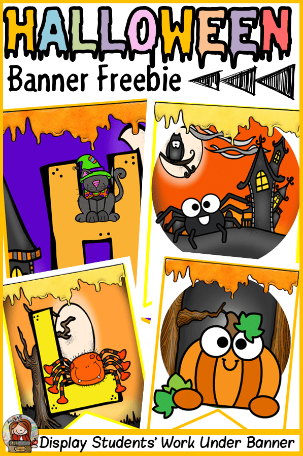 Halloween themed classroom Display Banner