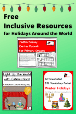 Use These Free Holidays Around the World Resources to Include All of Your Students