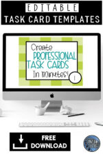 How to Create Editable Task Cards for Your Students the Easy Way