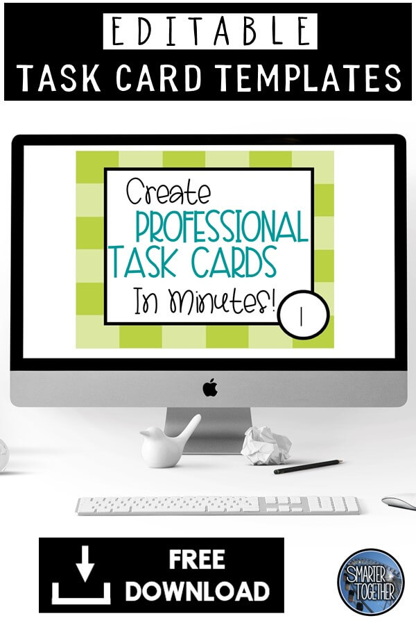 Editable Task Card Template
