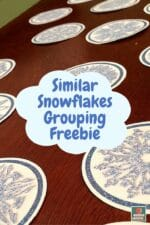 Snowflakes + Groups = Winter Fun!
