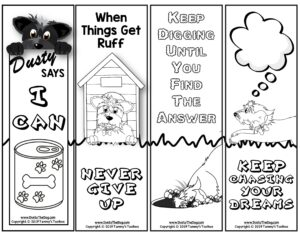 Dusty the Dog Bookmarks