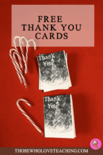 Free Holiday Thank You Cards