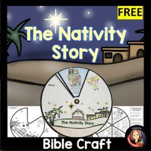 Nativity Story Retelling Wheel
