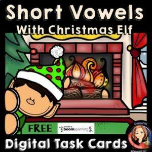 short vowel digital task cards