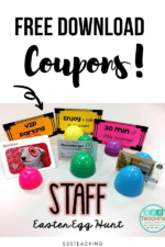 Celebrate Teachers….Hop in for an Egg Hunt with a Twist