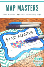 Map Skill practice at your fingertips – Map Masters – Geography,  FREE download