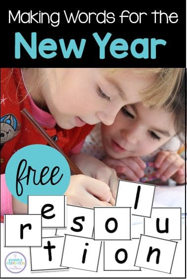 Use the letters in the word RESOLUTION to build new words