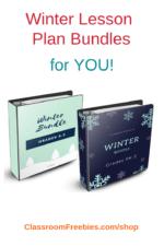 Winter Fun Lesson Plans!