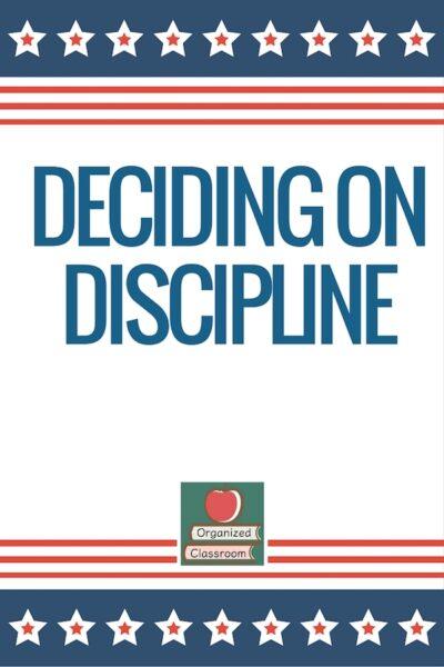 Free Discipline Poster