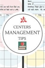 Managing Student Centers Freebie