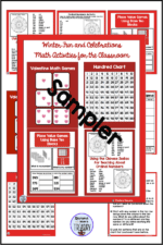Winter Math Games and Activities
