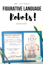 Meep, Meep – Figurative Language Robot Freebie for Poetry Month