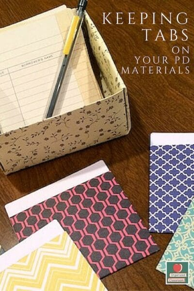 Finding Your Classroom Materials