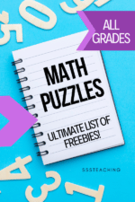 Math Puzzles – Riddles, Logic, and Fun your students will Love