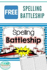 Boom! Ship Sunk! Spelling Battleship – your new spelling game or center