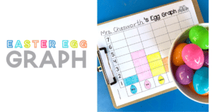 Easter Egg Hunt Graph with Pre-K and Kindergarten