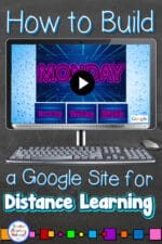 Using Google Sites to Deliver Distance Learning