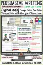PERSUASIVE/ OPINION DIGITAL WRITING: THE GOOGLE SLIDES WAY
