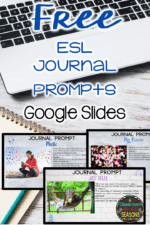 ESL Journal Prompts for Google Drive